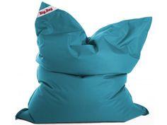 Bodenkissen Sitzkissen Sitzsack XXL Indoor in Türkis bis petrol, pflegeleicht für Wohnzimmer oder
