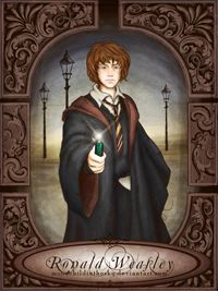 Ronald Weasley by MoonchildinTheSky.deviantart.com on @DeviantArt