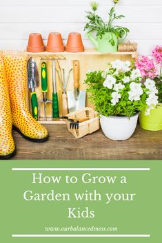 Do you want to grow a garden with your kids and don't know where to start? This post will give you tons of ideas and practical advise to start one now! Gardening For Beginners, Gardening Tips, Balcony Gardening, Fairy Gardening, Gardening Quotes, Succulent Gardening, Spring Activities, Family Activities, Best Herbs To Grow