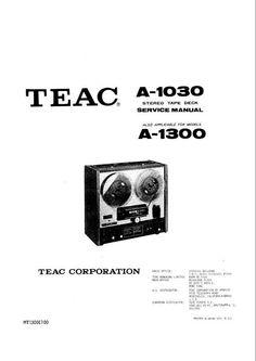 Akai GX-260-D reel to reel tape recorder Service Manual