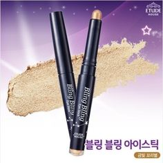 Etude House Bling Bling Eye Stick 9 Gold Star by Etude House Korean Beauty ** Read more  at the image link.