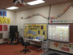 elementary music classroom | ... and Technology: Apple TV ... now in the Elementary Music Room