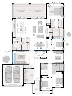 Things To Keep In Mind Before Considering Home Renovation Contract – Home Dcorz 4 Bedroom House Plans, Dream House Plans, House Floor Plans, My Dream Home, Building Design, Building A House, Home Design Floor Plans, Floor Plan Layout, House Blueprints