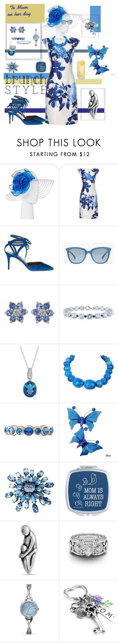 """""""Mothers Day Brunch - III"""" by mary-kay-de-jesus ❤ liked on Polyvore featuring Polaroid, Dorothy Perkins, Aquazzura, J.Crew, Lord & Taylor, Monet, Schreiner, Bling Jewelry and Allurez"""