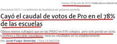 el blog de josé rubén sentís: la pérdida de votos del pro