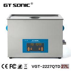 874.84$  Watch here - http://alis0k.worldwells.pw/go.php?t=2023729110 - Laboratory equipment 27L carburetor ultrasonic cleaner bath supplier heating washing machine  VGT-2227QTD