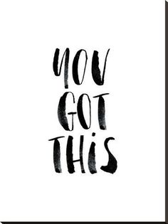 Stretched Canvas Print: Wilson's You Got This, 44x33in.
