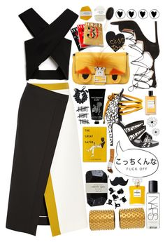 """""""In the Night The Only Thing That Matters Is Your Choice"""" by mabelfs ❤ liked on Polyvore featuring H&M, Fendi, Josh Goot, Aperlaï, Gianvito Rossi, Cassia, Arteriors, By Malene Birger, Van Cleef & Arpels and TokyoMilk"""
