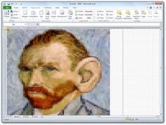 Yes, you can use Excel spreadsheets as a drawing tool to convert images into pixel art with little effort.