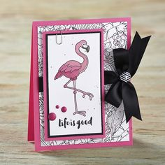 March Bloom Box featuring the Tickled Pink Stamp Set.