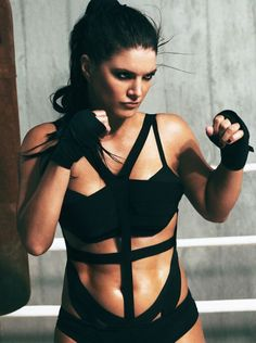 Former MMA fighter Gina Carano  #fitnessfriday