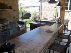 16 best Outdoor Kitchens by Crane images on Pinterest   Concrete ...