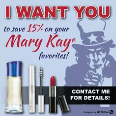 Happy Independence Day! Treat yourself to your favorite Mary Kay product at 15% off this week only. Find yours at www.marykay.com/jspears58 #JenSpears58 @JenSpears58