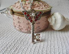 gift for her #KeyNecklace #SteampunkKey #BohoJewelry #EtsyHunter #ShopEtsy #Jewelry #EtsyForAll #Gift #giftformom