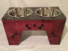 A personal favorite from my Etsy shop https://www.etsy.com/listing/271223930/dog-feeder-12-12-tall