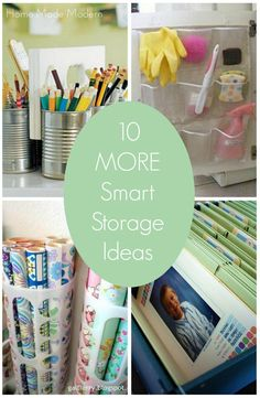 smart storage ideas