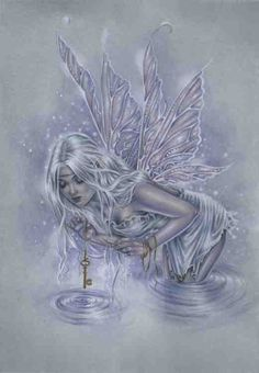 Original fantasy Fairy Art Painting by Selina Fenech - Fishing for Riddles Magical Creatures, Fantasy Creatures, Elfen Fantasy, Water Fairy, Mermaid Fairy, Fairy Pictures, Love Fairy, Beautiful Fairies, Fairy Art