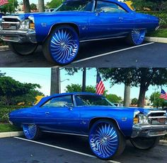 thats a fucking beast Donk Cars, Super Sport Cars, Old School Cars, Fancy Cars, Sweet Cars, Expensive Cars, American Muscle Cars, Big Trucks, Amazing Cars