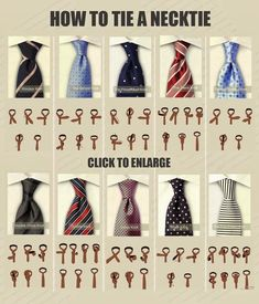 DIY Tie a necktie #fashion #men