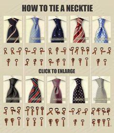 DIY Tie a necktie #fashion #men