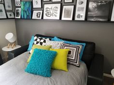In addition to a luxe queen bed, Ferny Hill Retreat offers guests a comfy double sofa bed that . Comfy Sofa, Holiday Apartments, Queen Size Bedding, Romantic Couples, Double Beds, Queen Beds, Sofa Bed, Emerald, Throw Pillows
