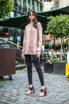 Buttoned down casual