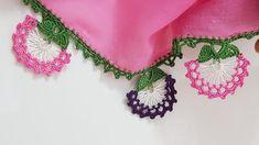 Tığ işi oya modeli Crochet Necklace, Coin Purse, Baby, Create, Pink, Amigurumi, Tejidos, Needlepoint, Budget