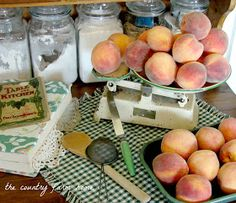 This jam is peach and pineapple. My mother makes THE BEST Apricot/pineapple jam in the world! The Country Farm Home: Making Amish Peach Jam Apricot Pineapple Jam, Peach Jelly, Peach Jam, Peach Preserves, Jelly Recipes, Jam Recipes, Canning Recipes, Satsuma Recipes, Fruit Recipes