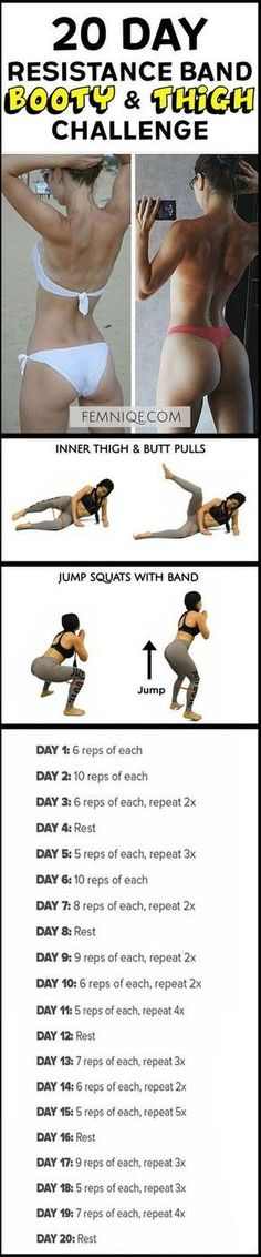 How To Get A Bigger Butt Workout Using Resistance Bands Bigger Butt Workout At Home