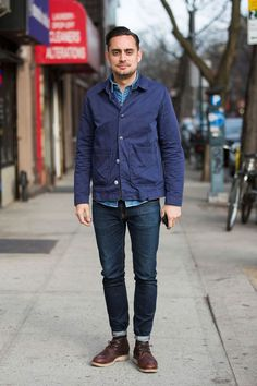 Street Style: American Workwear by Way of London: The Daily Details: Blog