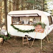 Sweet Water caravan a mobile bar for hire Diy Wedding Supplies, Wedding Supplies Wholesale, Diy Party Supplies, Menu Wedding, Rustic Wedding, Wedding Ideas, Mobile Cocktail Bar, Wood Wedding Decorations, Buffet