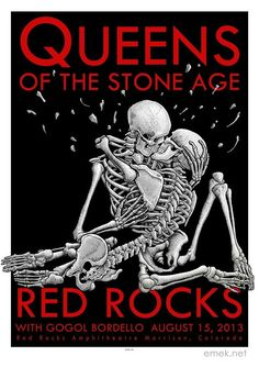 Queens of the Stone Age ~ Red Rocks 2013 by Emek
