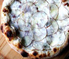Potato, Bacon & Creme Fraiche Pizza