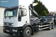 Camion iveco 6x2 ampliroll polybenne 281000km