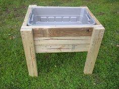 Pallet Project - Pallet Sensory Sand Table