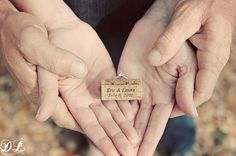 vineyard theme wedding ring shot using a cork with your names and wedding date!