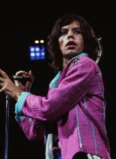 Mick Jagger by Jerry Aronson