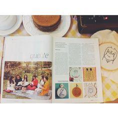 O domingo mais feliz, quando você toma café da manhã vendo seu trabalho na matéria da revista (EM 4 PÁGINAS!!!). Muito obrigada Bruna Haddad...