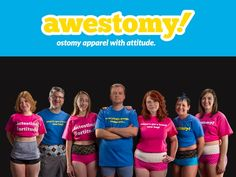 Awestomy - Ostomy Apparel with Attitude— Kickstarter.  Pocketed ostomy undergarments and apparel for ostomates to live their lives with confidence. Please watch, share and help us reach our goal! Ulcerative Colitis, Crohns, Attitude, Crohn's Disease, Life, Surgery, Pouches, Fashion, Confidence