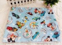 100*156cm Mickey Minnie Mouse friend with car Polyester Sewing Fabric, Diy Cloth for Patchwork Quilting Tilda Dropshipping