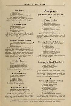 Retro Recipes, Old Recipes, Vintage Recipes, Baking Recipes, Cajun Recipes, Recipies, Restaurant Menu Template, Menu Restaurant, Butter Mints