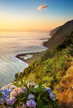 'The cliff paths of São Jorge are magnificent for scenery, combining landscape grandeur steep descents to isolated fajãs on tiny tracks.' From Azores: the Bradt Travel Guide. http://www.bradtguides.com/azores