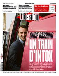 Le journal de BORIS VICTOR : à lire sur Libération mardi 3 avril 2018