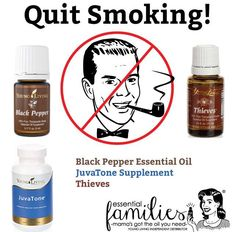 Quitting smoking is another big New Years resolution! And Young Living Essential Oils and Supplements can help with the process of kicking the habit!