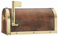 Copper Mail Boxes from the Weathervane Shoppe. Quality construction and standard size to fit virtually any standard mailbox post.  Some can be personalized with a name, number or quote.
