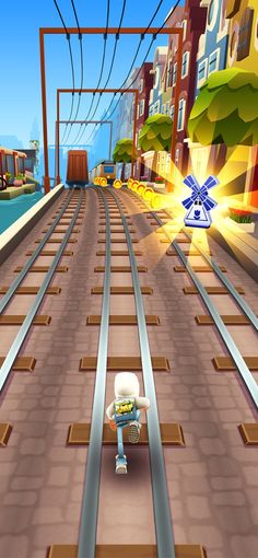 Subway Surfers dans l'App Store Subway Surfers, Ol Days, The Good Old Days, Surfing, Fair Grounds, App Store, Travel, Android, Teaching