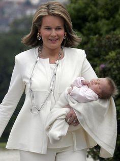 Princess Mathilde of Belgium looking so elegant