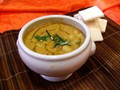 Zuppetta piccante con ceci, patate e polpo