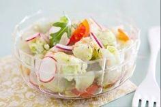 Découvrez cette recette en vidéo pour apprendre cette recette de Ceviche de daurade avocat et pamplemousse rose