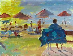 """Makiwa Mutomba, """"Day 12: Sunset Trou-Aux Biches"""""""